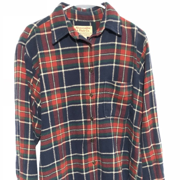 231cc929d6 Abercrombie   Fitch Other - Abercrombie   Fitch Vintage Small Flannel Shirt